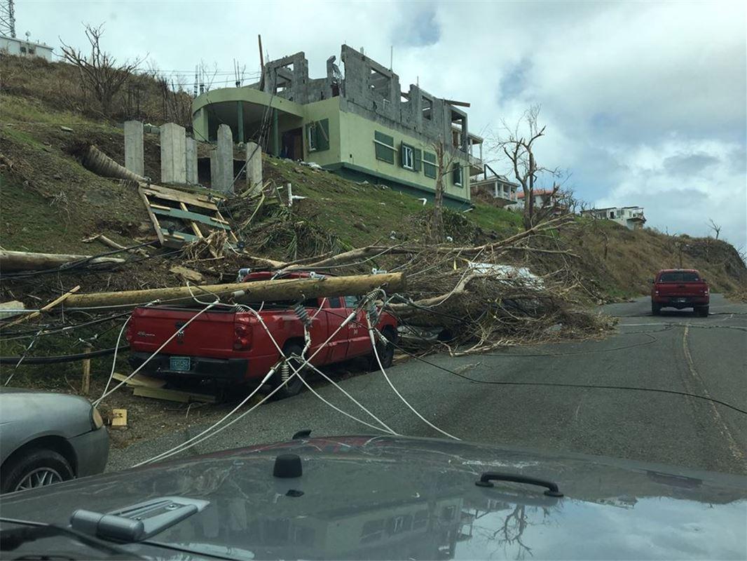 Hurricane Maria Update Resorts On Us Virgin Islands Take Stock Of Damage