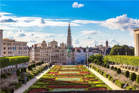 Brussels on the Rise