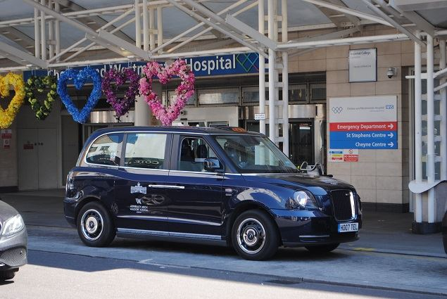 Arch Waldorf Astoria London Launches Free Rides for Healthcare
