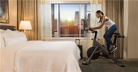 Westin Steps Up Its Fitness Offerings With Peloton High-Tech Bikes