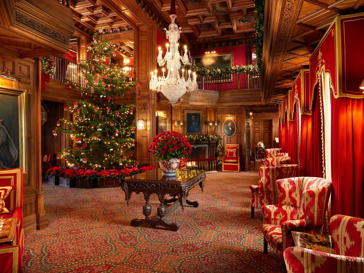 Decorated Dining Rooms Ireland S Ashford Castle Soars Under Ttc S Tollman Family