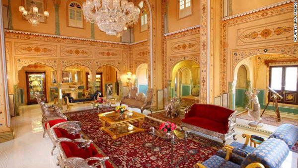Maharajah Pavilion Raj Palace Best Hotel Suites