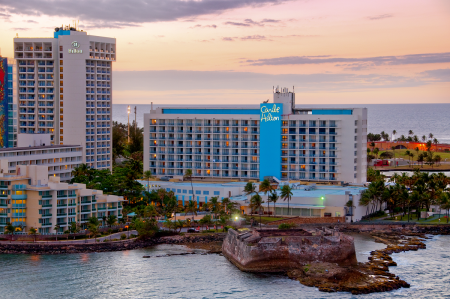 Puerto Rico's Caribe Hilton Reopens After 15-Month Closure