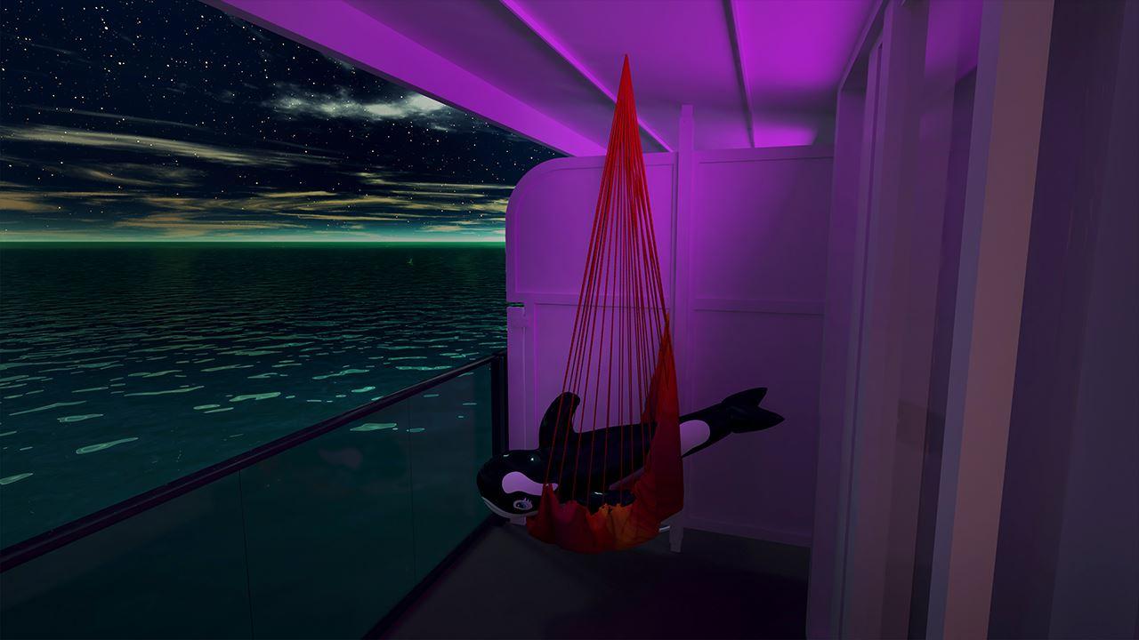 Virgin Voyages Terrace Hammock Stateroom Cruise