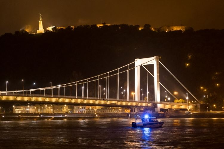 Rescuers Search for Missing After Danube Boat Collision