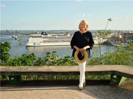 MSC Cruises Partnering with Martha Stewart for New Onboard and Ashore Experiences