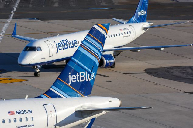 JetBlue Airlines  Middle Seat Face Mask Policy