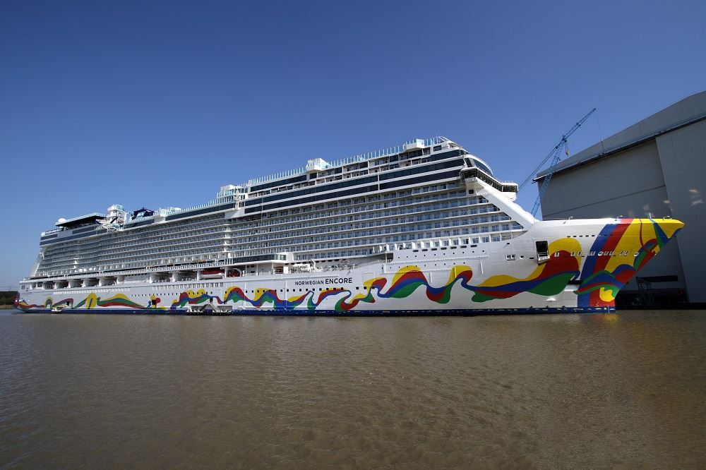 NCL Takes Delivery of its Newest Vessel, Norwegian Encore