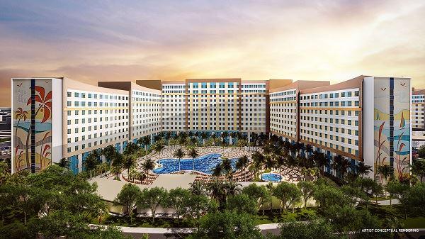 Universal Orlando New Hotel
