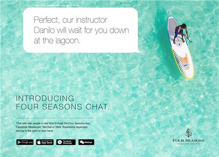 Four Seasons Adds New Chat Feature