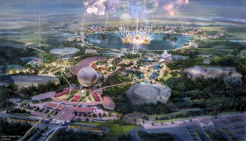 Disney Outlines Massive Epcot Overhaul