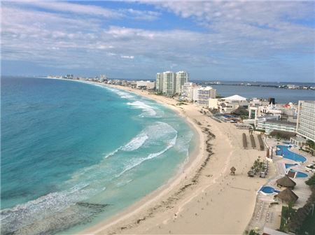 Travel Agents In Cancun Are Upbeat About Mexico