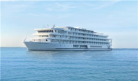 American Cruise Line's Newest Modern Riverboat Arrives in New Orleans
