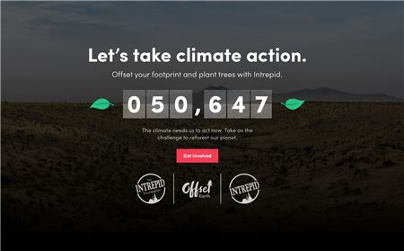 Intrepid Launches Monthly Subscription for Travelers Who Want to Offset Carbon Footprint