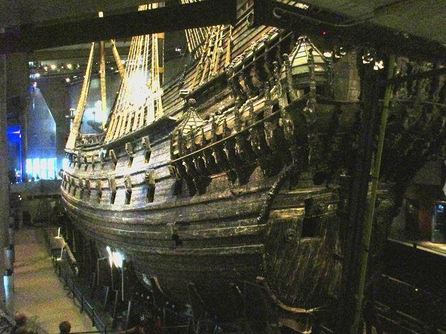 The Vasa Museum in Stockholm baltic cruise line tour Tauck Ponant Stockholm