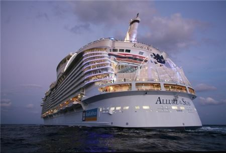 Royal Caribbean's Allure of the Seas Docks in San Juan After Canceling Two Ships