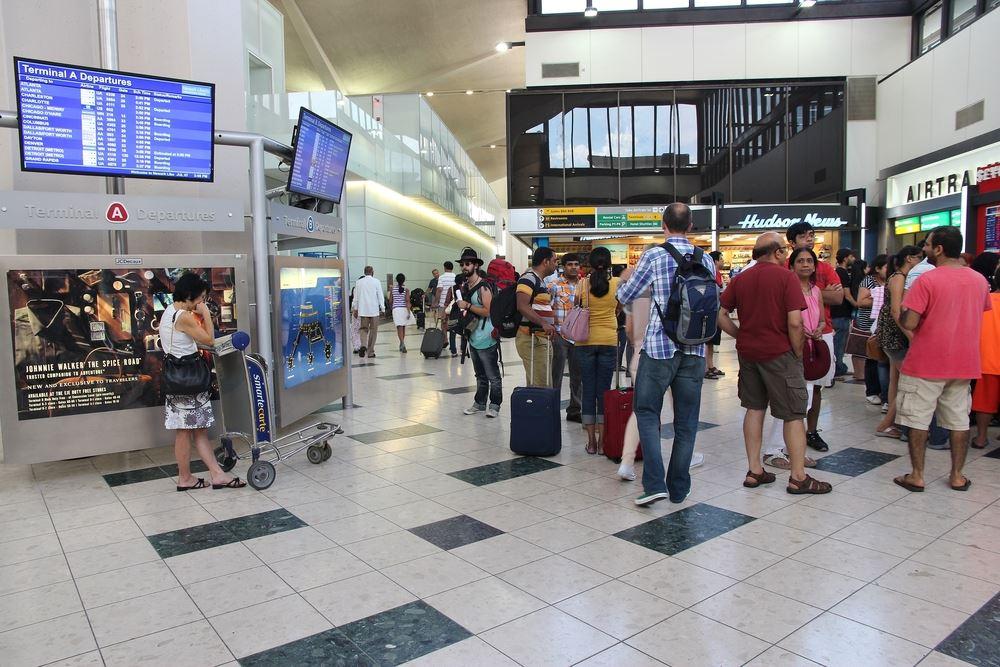 Newark Liberty Longest AIrport Wait Times