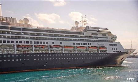 Holland America's Zaandam and Rotterdam Dock in Port Everglades