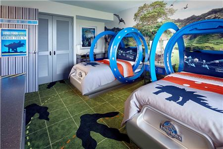 Universal Orlando Reveals New Jurassic World Kids' Suites