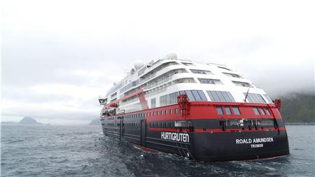 Hurtigruten's MS Roald Amundsen Will Be the First Cruise Ship to Sail on Battery Power