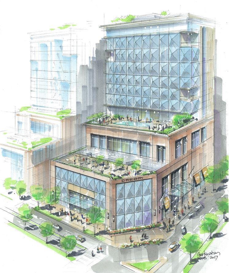 Dream Hotel India rendering