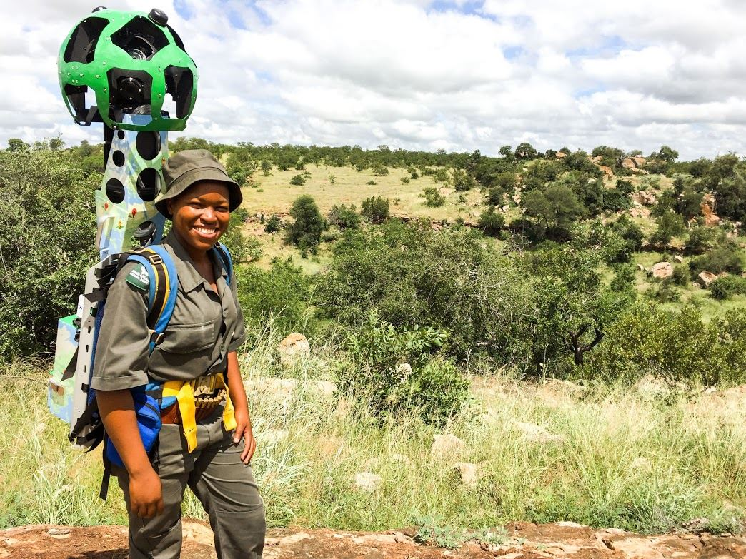google street view maps south africa treks