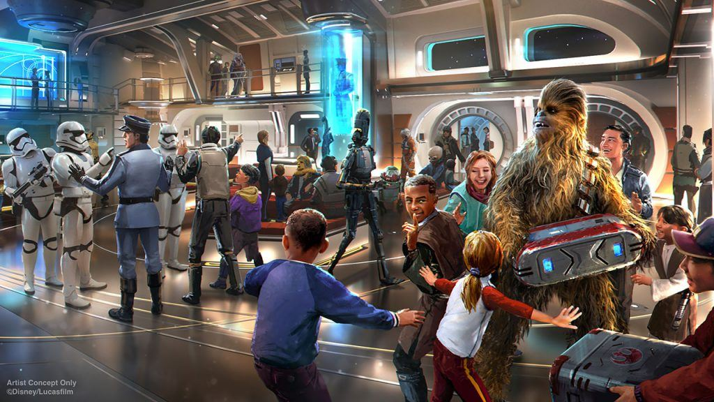 Star Wars Disney Hotel New