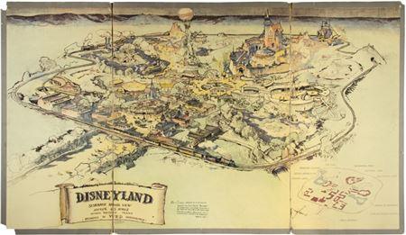 Rare Disneyland Map Sells For $708,000