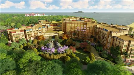 Hong Kong Disneyland To Open Third Hotel