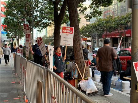 Hotel Workers Strike Continues, Union and Marriott Have Not Reached
