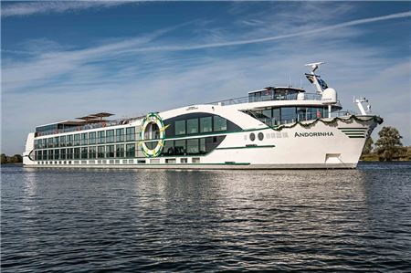 Tauck Shares Details of New Ship MS Andorinha Riverboat