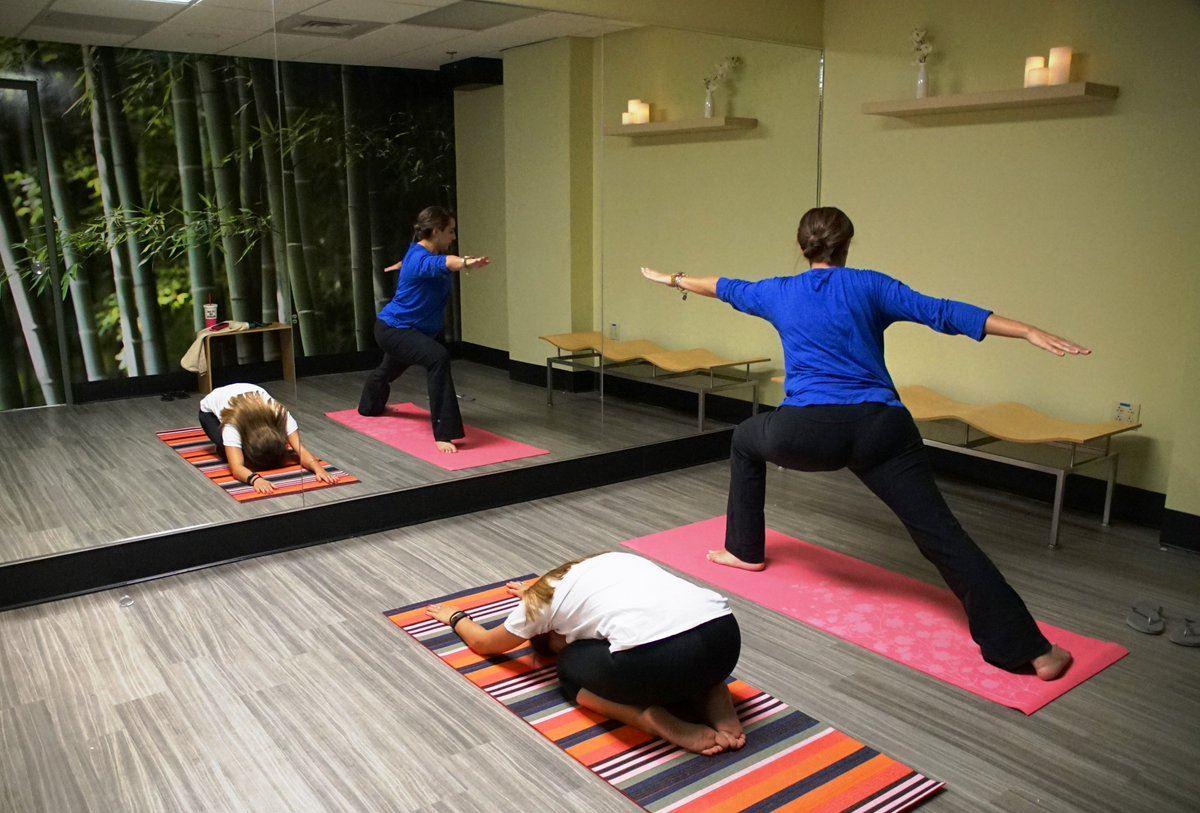 Yoga room at Miami International Airport.