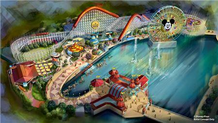 Disneyland's Pixar Pier to Open Summer 2018