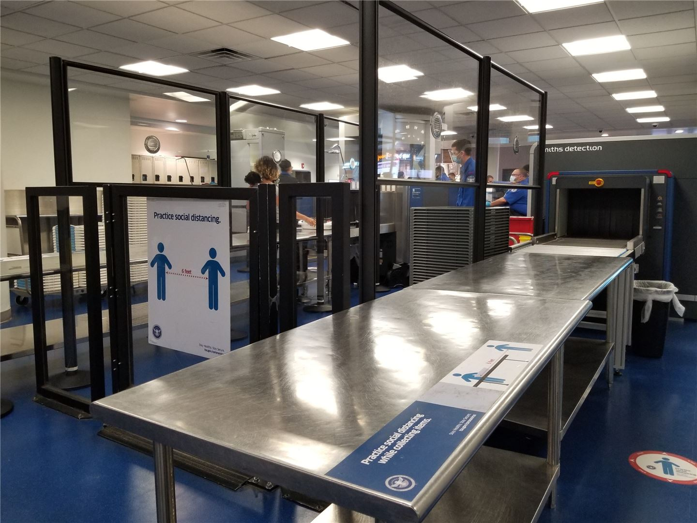 TSA Checkpoints COVID-19