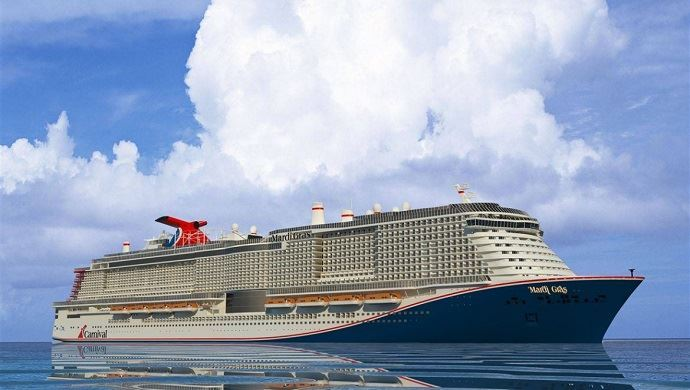 Carnival Cruise Line Delays Mardi Gras Debut to 2021