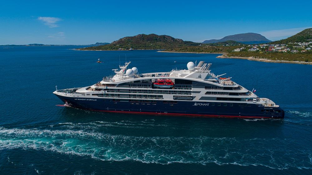 Ponant Takes Delivery of Fourth Explorer Series Ship
