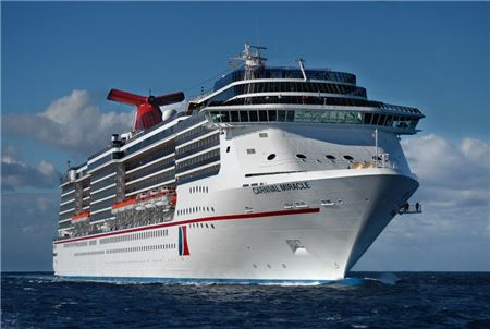 Carnival Cruise Line to Return to San Diego with Miracle in 2019
