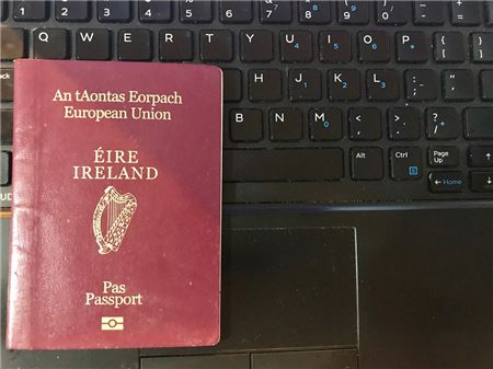 Ireland Now Letting All Citizens Apply for and Renew Passports Online