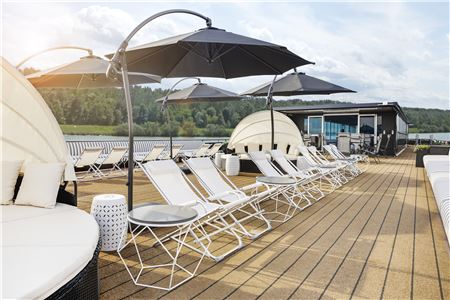 U by Uniworld's 'A' Takes Its Maiden Voyage on the Rhine