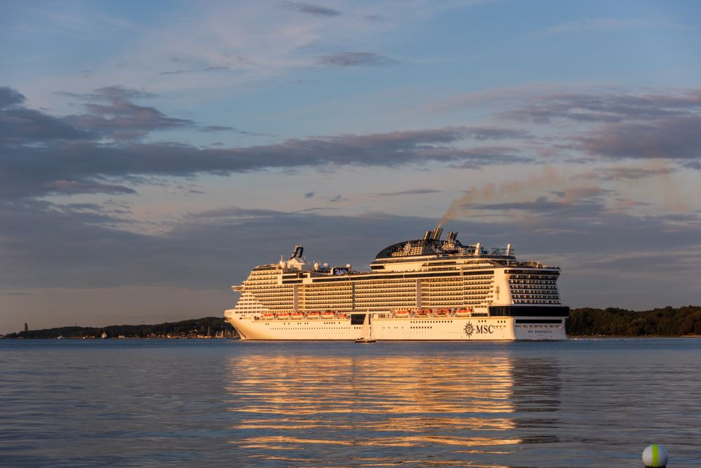 MSC Cruises Says 'No Cases of COVID-19 Virus' Onboard Meraviglia