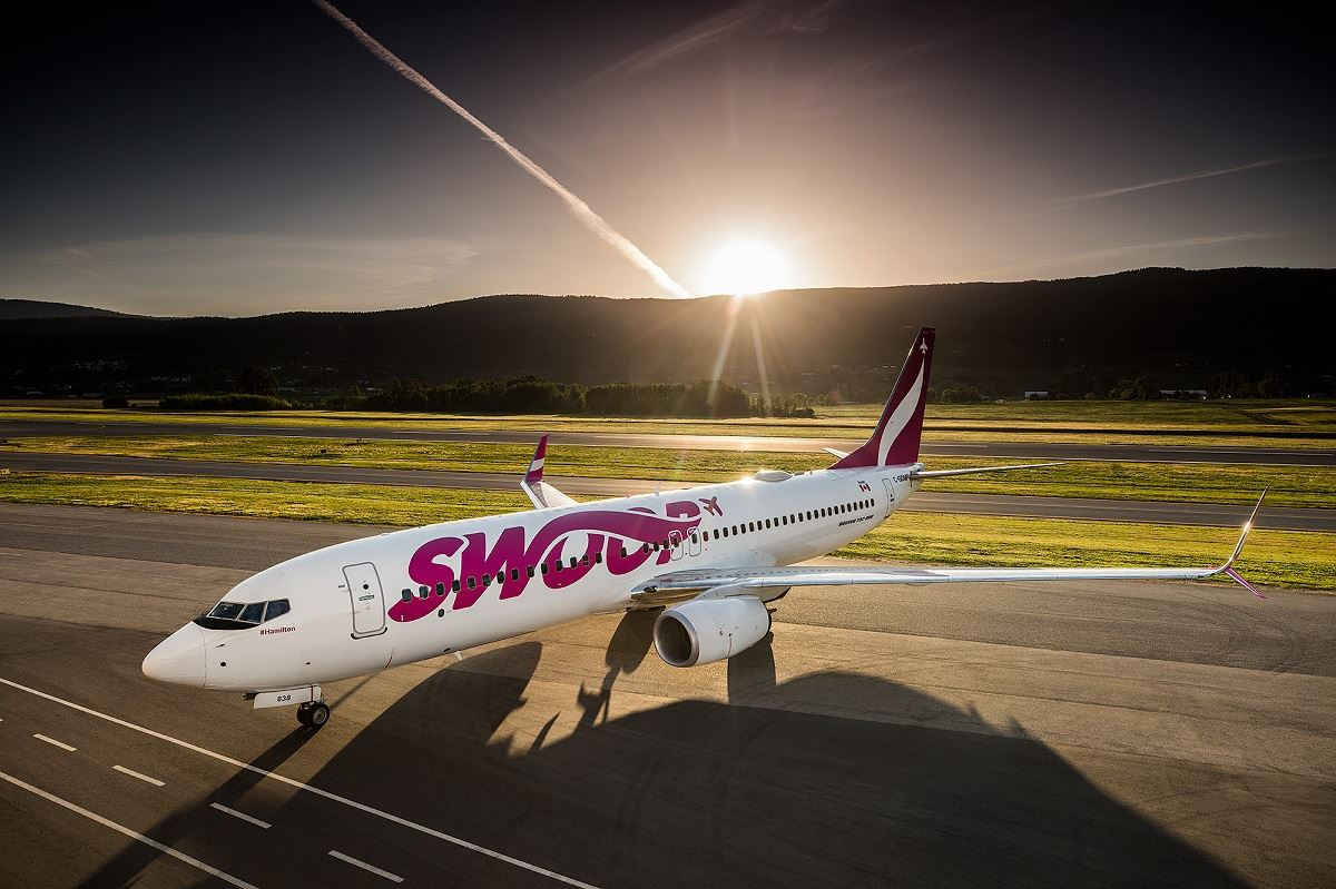Canadian Low-Cost Carrier Swoop Adds Flights to Five U.S. Cities