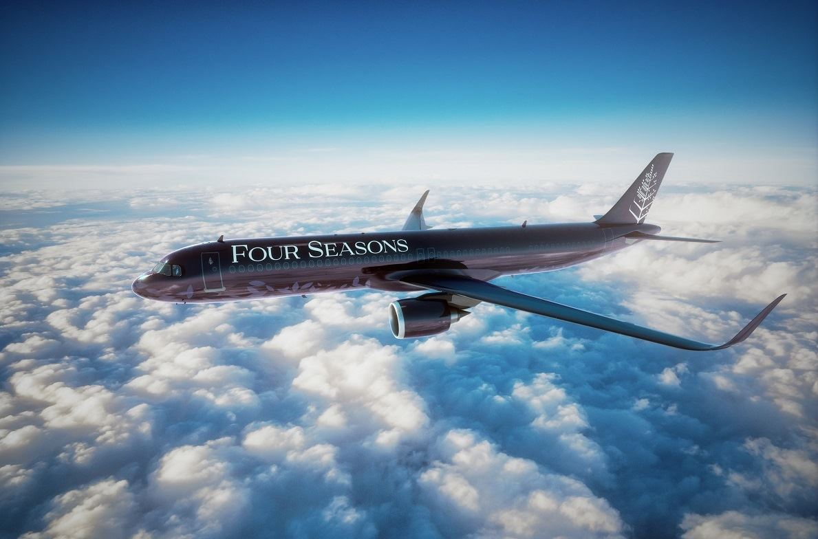 Four Seasons Looks to Redefine Modern Luxury Air Travel with New Jet