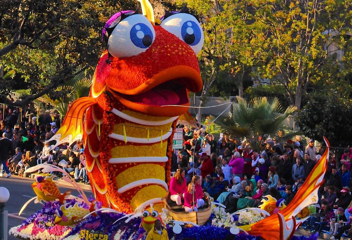 An Inside Look at The Rose Parade in Pasadena on New Year's Day
