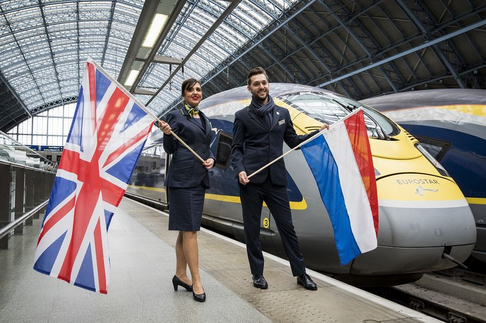 Eurostar Launches Direct Service Between London and Amsterdam