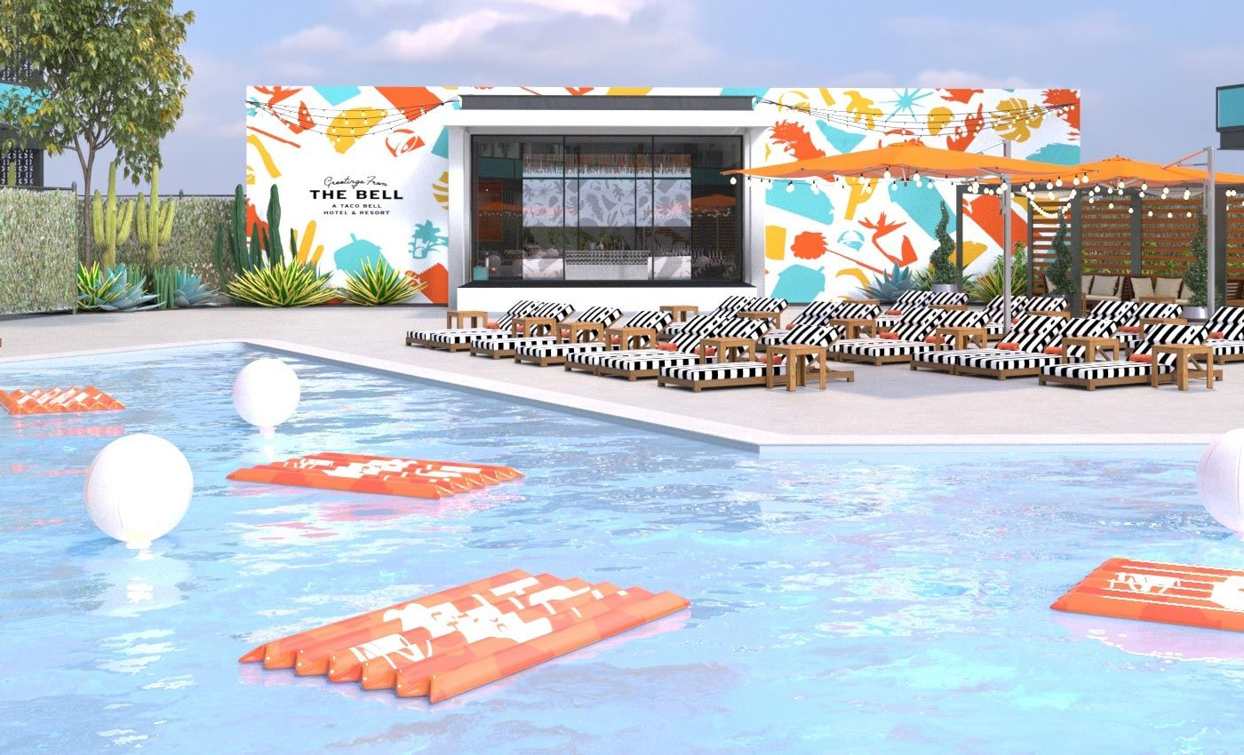 Pop-Up Taco Bell Hotel Sells Out in Two Minutes