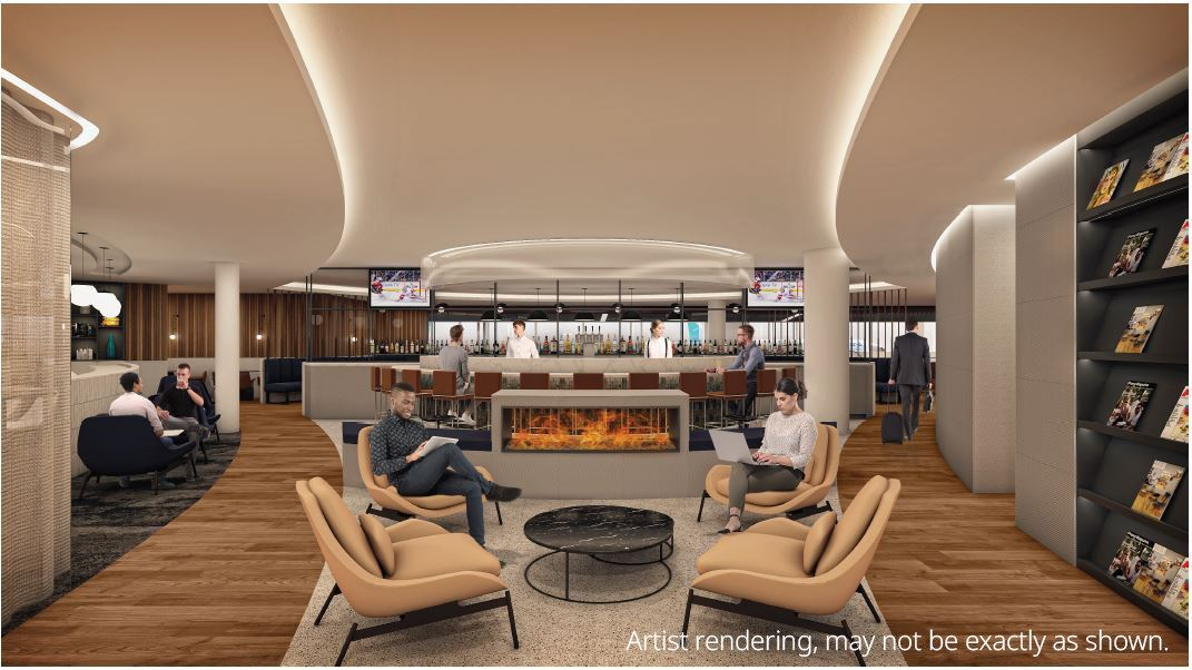 WestJet Starts Work on New Lounge at Calgary International Airport