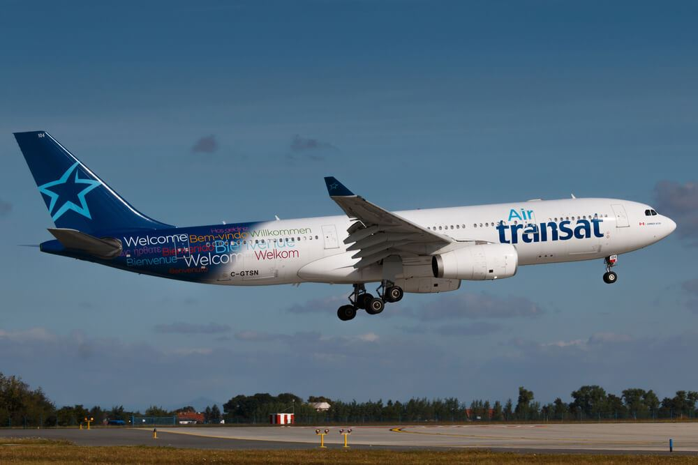 Air Transat to Suspend All Operations