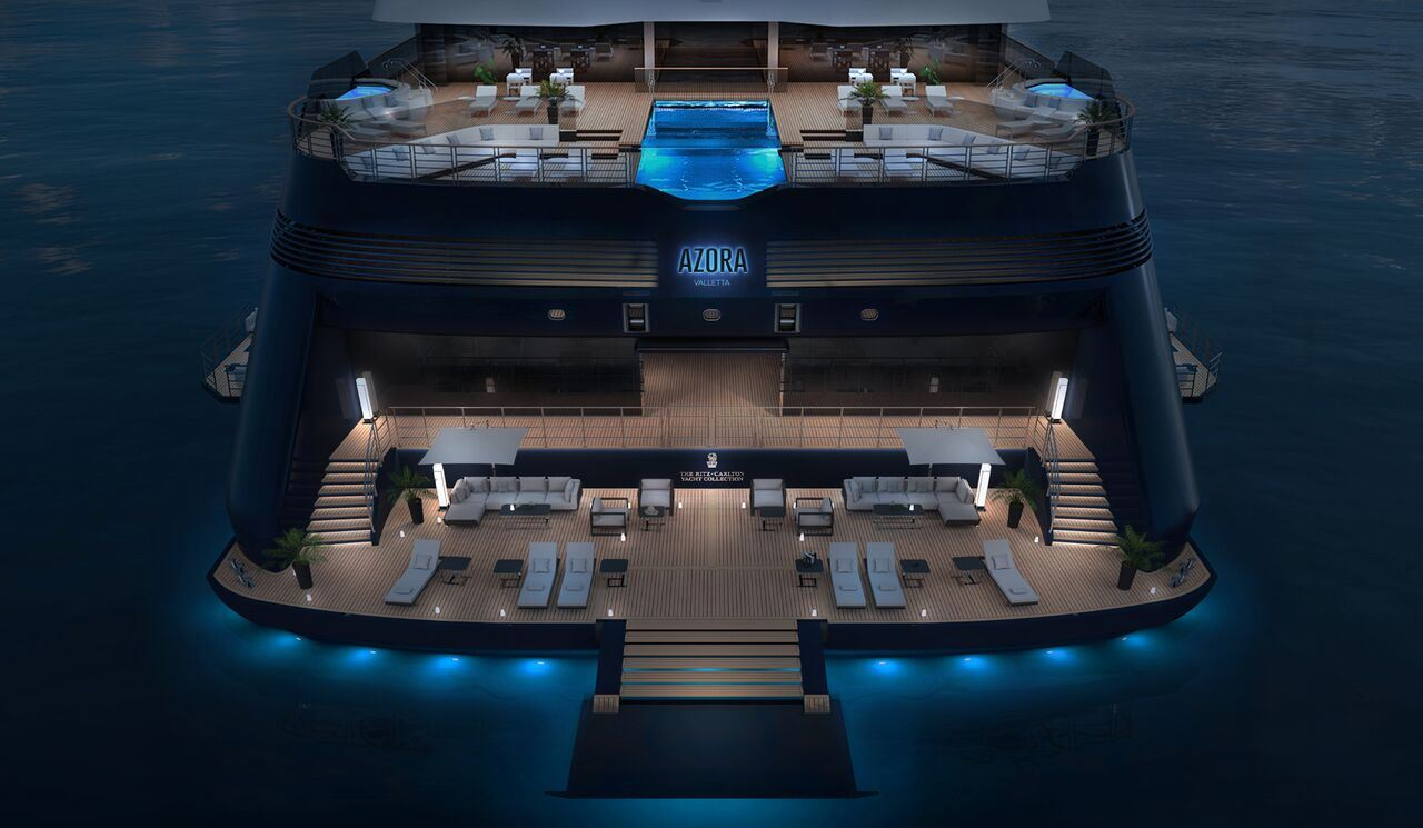 Ritz-Carlton Yacht Collection Reveals Name of First Ship