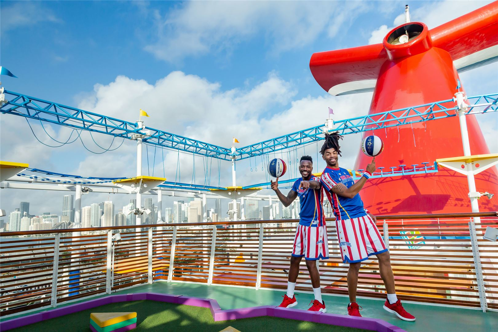 Carnival Cruise Line Partners With Harlem Globetrotters