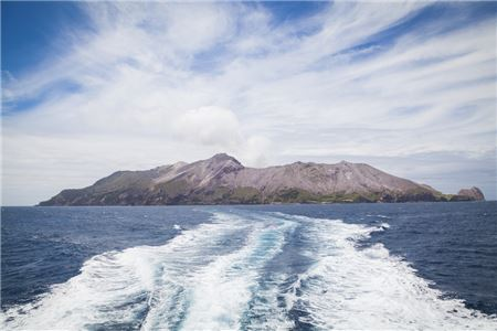 Cruise Ship Passengers Missing After Volcanic Eruption on New Zealand's White Island